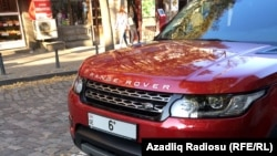 Tbilisidə avtomobil nömrəsi