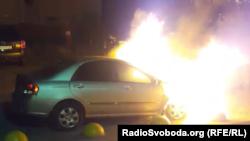 Вночі 17 серпня невідомі підпалили автомобіль програми журналістських розслідувань Схеми» (спільний проєкт Радіо Свобода та телеканалу UA:Перший), який належить водієві програми – учаснику знімальної групи Борису Мазуру
