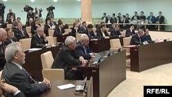 Сенат парламента Казахстана.