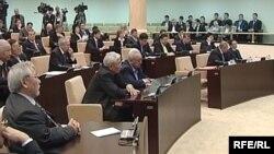 Сессия сената парламента Казахстана. Иллюстративное фото.