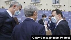 Nicușor Dan, Dacian Cioloș, Dan Barna, Ludovic Orban