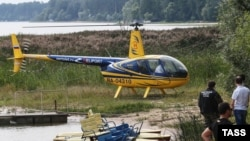 Вертолет «Робинсон». Иллюстративное фото.
