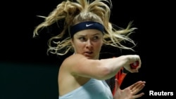 Ukrainian tennis player Elina Svitolina (file photo)