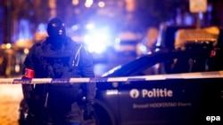Одна из полицейских операций в Бельгии по задержанию радикальных исламистов