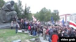 Минскида оппозиция митингы