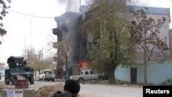 Воениот центар во Кундиз, Авганистан