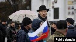 Депутат Госдумы от Единой России Николай Валуев агитирует в Севастополе