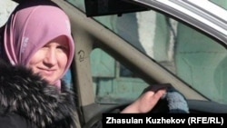Жительница Астаны Наталья Войтенкова, жена заключенного Рафиса Галиулина.