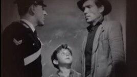 Velosiped oğruları. Vittorio De Sica. Filmdən görüntü