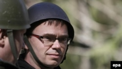 Sven Mikser la un exercițiu militar la Tapa, 12 mai 2015.