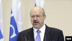 Ýewropada Howpsuzlyk we Hyzmatdaşlyk Guramasynyň (ÝHHG) baş sekretary Lamberto Zannier, Minsk, 2015.