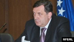 "Republika Srpska Prime Minister Milorad Dodik: ""We accept Bosnia because we must, and because it is part of the agreement we signed."""