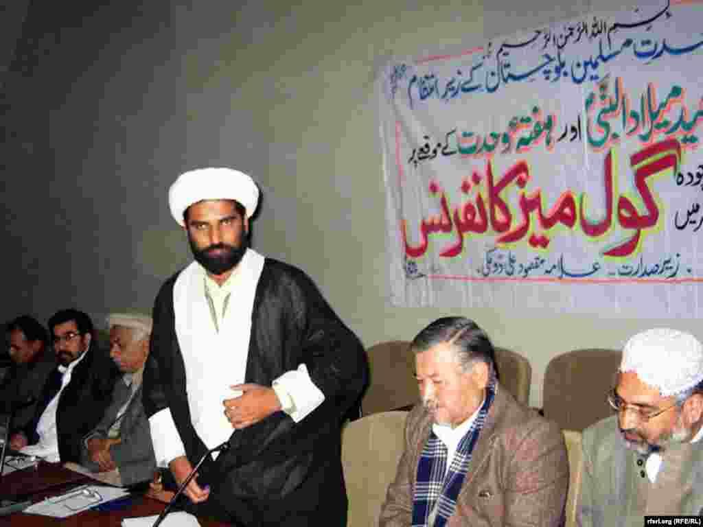 Конференция шиитов и суннитов в Белуджистане.