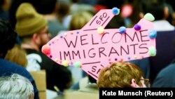 Активісти протестують проти імміграційних обмежень у США, аеропорт Сан-Франциско, 29 січня 2017 року