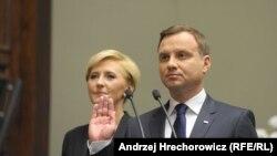 Инаугурация нового президента Польши Анджея Дуды
