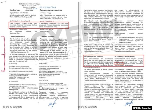 Вартість маєтку сім'ї Холодова, відповідно до інформації з реєстру – близько 6 мільйонів євро