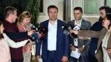Премиерот Зоран Заев и претседател на СДСМ дава изјава по состанокот на централниот одбор на СДСМ.