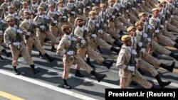 Paradă a armatei iraniene, Teheran, 22 septembrie 2019
