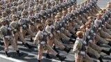 رژه ارتش جمهوری اسلامی در روز ارتش سال ۱۳۹۸