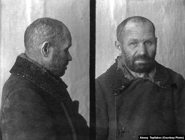 Видный алтайский чекист 20-х годов Константин Болотный в 1938 году, перед расстрелом