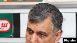 Armenia -- Iranian Ambassador Seyed Ali Saghaeyan at a news conference in Yerevan, 23June 2010.