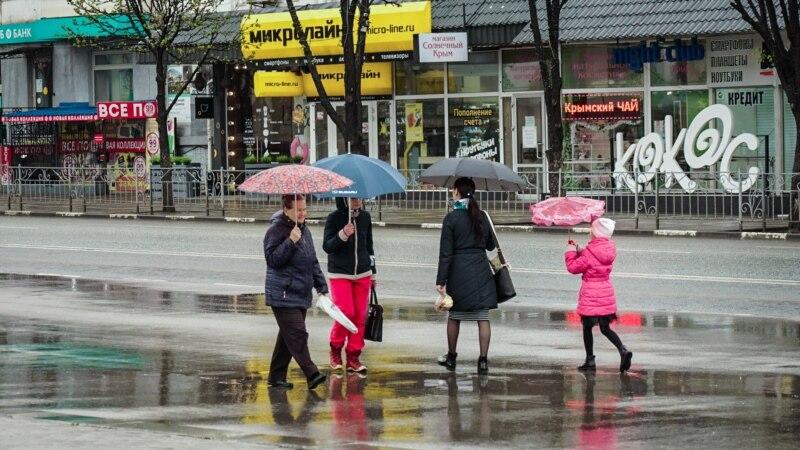 В Крыму местами пройдут дожди – синоптики