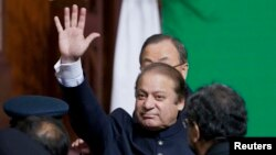 Pakistani Prime Minister Nawaz Sharif (file photo)