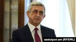 Экс-президент Армении Серж Саргсян (архив)