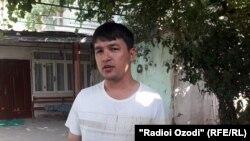 "Файзуллоджон Сафаров, бывший сторонник ""Группы 24"""
