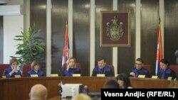Sa suđenja Mladenu Obradoviću, lideru pokreta Obraz