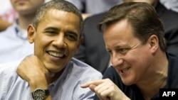 Barack Obama i David Cameron