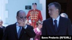 Princ Albert od Monaka sa Vujanovićem na Cetinju