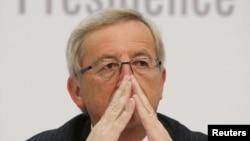 Претседателот на Еврогрупата, Жан Клод Јункер