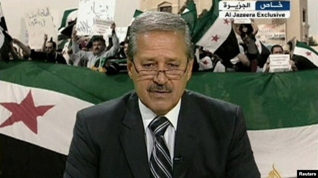 Syrian Ambassador to Iraq Nawah al-Fares announces his resignation and decision to join the opposition forces against the Syrian president from an undisclosed location.