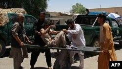 Жртва од бомбашки напад во Авганистан.