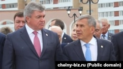 Наиль Магдеев, Рустам Минниханов