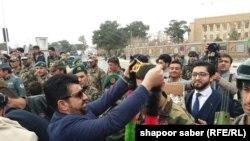 حمایت هراتیان از نیروهای افغان