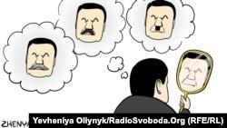 Карыкатура на Віктара Януковіча
