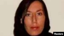 Monica Witt, 39, is seen in this FBI photo released on February 13.