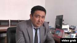 Заместитель акима Жамбылского района Алматинской области Мурат Мадигулов.