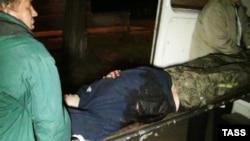 Один из пострадавших при штурме воинской части в Мариуполе