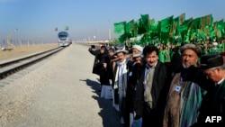 Церемония открытия участка дороги Керки-Имамназар-Акина, Афганистан, 28 июля, 2019
