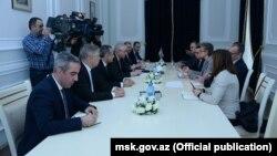 MSK-da ATƏT/DTİHB-nin seçki müşahidə missiyasının rəhbəri ilə görüş.