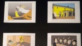 Izložba Koraksovih karikatura u Budvi, 18. jul 2012.