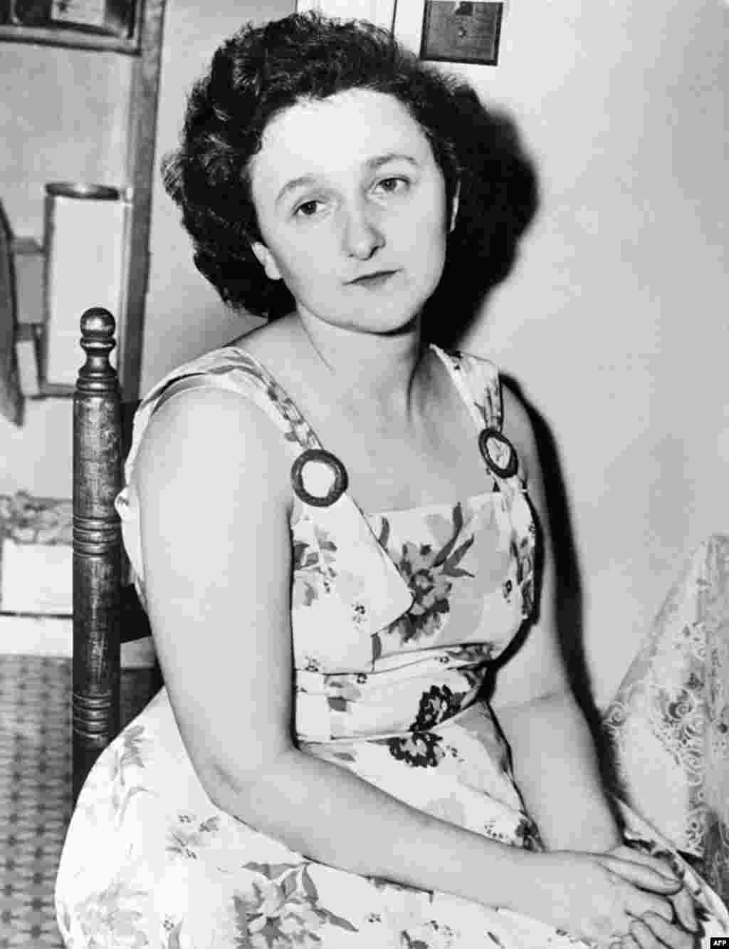 Later evidence emerged that Julius Rosenberg had in fact acted as a courier and recruiter for Soviet intelligence. But the involvement of Ethel Rosenberg, seen here in an undated photo, was more ambiguous, and may have involved little more than typing notes for Julius.