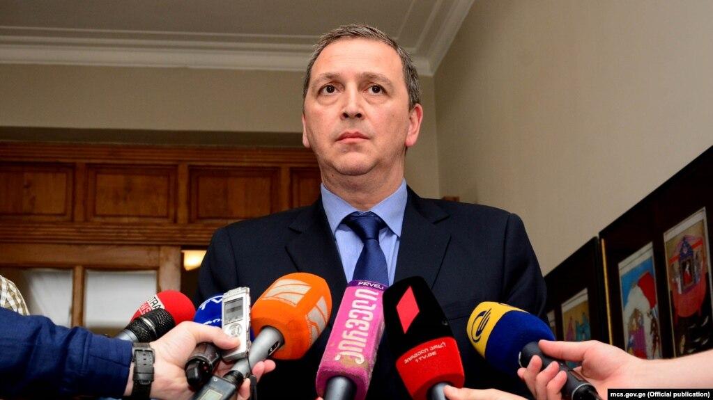 Министр культуры и спорта Михаил Гиоргадзе