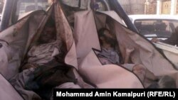 Кандагар – аўганцы, забітыя ў часе нядзельных баёў урадавых войскаў з талібамі