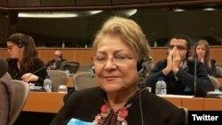 گیتی پورفاضل، حقوقدان و عضو شورای مرکزی جبهه ملی ایران