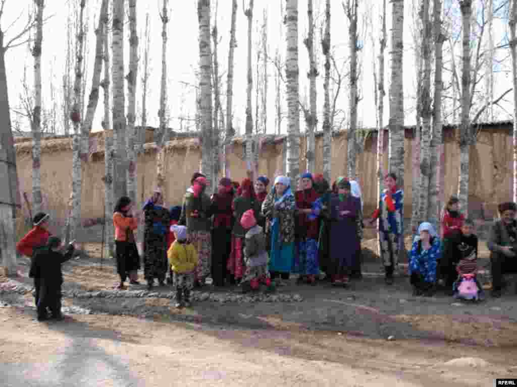 Inhabitants of one of villages in Kulob region, Tajikistan, 18March2008