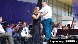 Виступ оркестрів Росгвардії в Сімферополі. 10 червня 2018 року